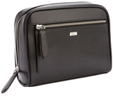Royce Leather Saffiano Toiletry Travel Grooming Wash Bag