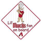 Team ProMark® Lil' Fan On Board SigNinarizona Diamondbacks