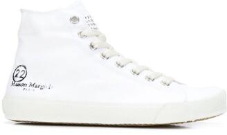 Maison Margiela hi-top Tabi sneakers