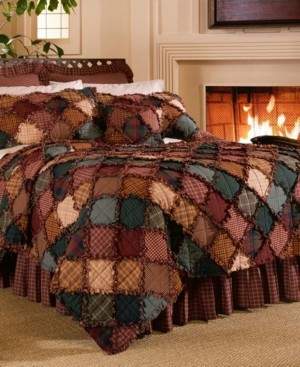 American Heritage Textiles Campfire Cotton Quilt Collection, Queen