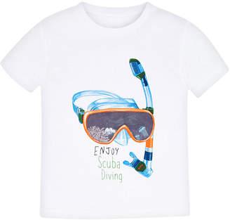 Mayoral Boy's Snorkel Screen-Print T-Shirt, Size 4-7