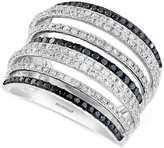 Effy Final Call Diamond Multi-Row Statement Ring (1-1/5 ct. tw.) in 14k White Gold