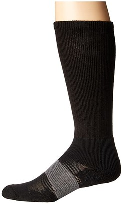 Thorlos Work Max Support Over Calf Single Pair (White) Crew Cut Socks Shoes