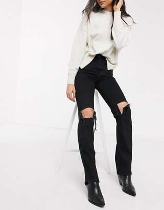 We The Free By Free People by Free People My Own Lane jean-Black