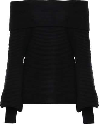 A.L.C. Off-the-shoulder Wool And Cashmere-blend Sweater