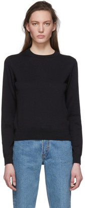 A.P.C. Black Cashmere Juliette Sweater