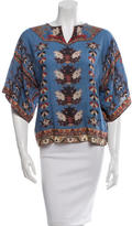 Isabel Marant Floral-Print Tunic Top