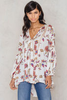 Free People Just The Two Of Us Printed Tunic