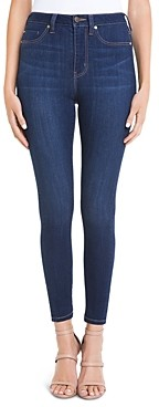 Liverpool Los Angeles Liverpool Bridget High-Rise Skinny Jeans in Griffith Super Dark