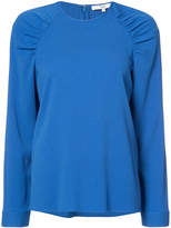 Tibi ruched shoulders sweatshirt