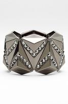 Tasha Natasha Couture Crystal Triangle Bracelet