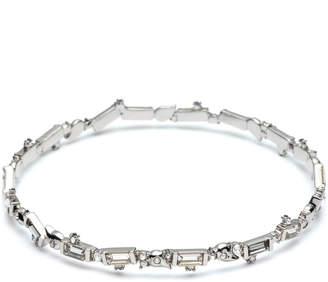 Alexis Bittar Crystal Baguette Bangle Bracelet