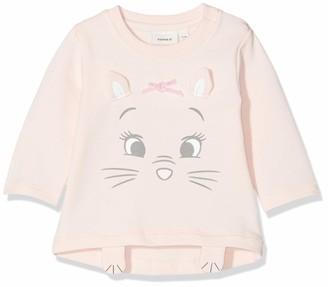 Name It Baby Girls' Nbfmarie Unity Ls Sweat Unbru Wdi Sweatshirt