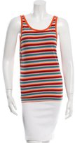 Dolce & Gabbana Rib Knit Striped Top