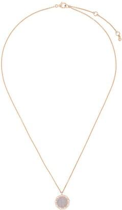 Astley Clarke Lace Agate Luna pendant necklace