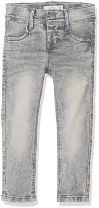 Name It Baby Girls' Nittika Skinny DNM Pant NMT Noos Jeans