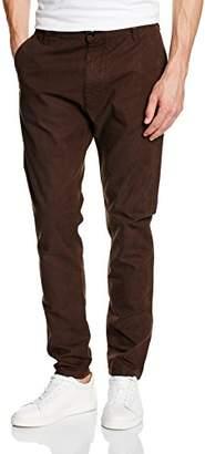 Armani Jeans Men's 6X6P606NBCZ Straight Leg Trousers, Brown (Marrone 1765), W44