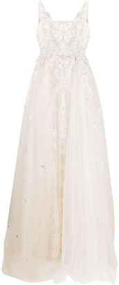 Loulou Embroidered Lace Bridal Gown
