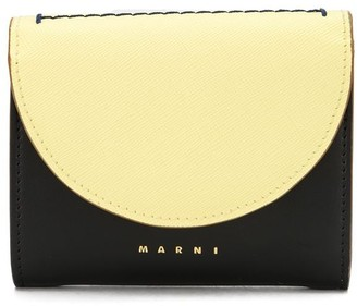 Marni colour-block bi-fold wallet