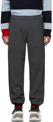 Burberry Grey Melange Jogger Lounge Pants