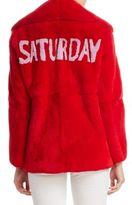 Alberta Ferretti Fur Saturday Jacket