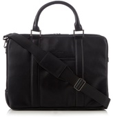 J By Jasper Conran Black Two Handle Business Bag