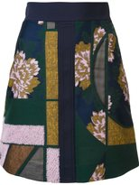 Roksanda patchwork skirt