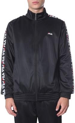 Fila Logo Band Zipped Sweatshirt