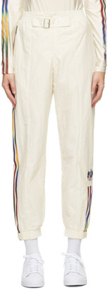 adidas Off-White Paolina Russo Edition Striped Track Pants