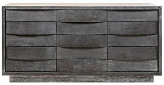 Noir Godard 15 Drawer Dresser
