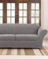 Sure Fit Stretch Pique 2 Cushion Sofa Slipcover Bedding
