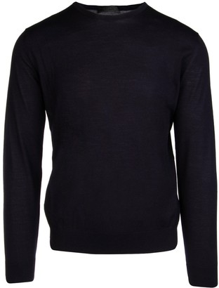 Prada Crewneck Knit Sweater