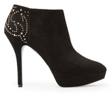 Mango Outlet Studded Suede Ankle Boots