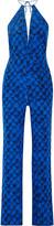 Diane von Furstenberg Ireland printed silk jumpsuit