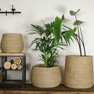 Nkuku Small Seagrass Basket - Natural