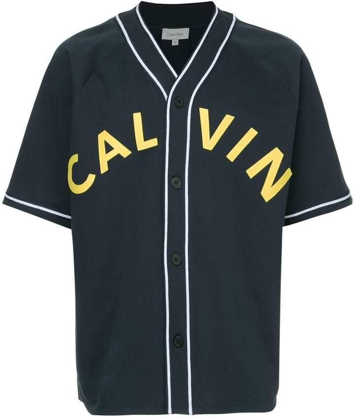 CK Calvin Klein logo jersey T-shirt