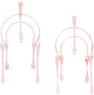 Dannijo Semi Hoop Earrings