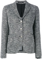 Tagliatore fitted blazer - women - Cotton/Acrylic/Nylon/Viscose - 44