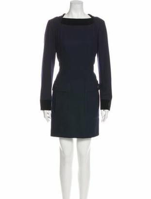 Chanel 2013 Mini Dress Wool