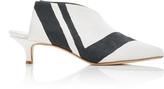 Tibi Jase Striped Boot