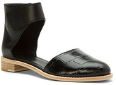 All Black Women's Croc Wrap Sandal