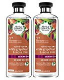 Herbal Essences Biorenew White Grapefruit & Mosa Mint Naked Volume Shampoo, 13.5 FL OZ (2 Count)