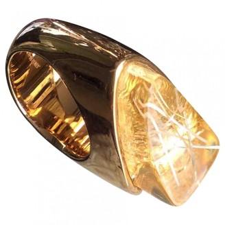 Chloé Gold Metal Rings