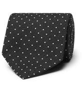 Tom Ford 8cm Embroidered Woven Silk Tie