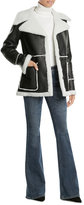 Derek Lam Leather and Shearling Jacket