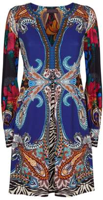 Hale Bob Precious Long-Sleeved Dress