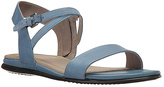Ecco Retro Blue Sambal Touch Leather Sandal - Women