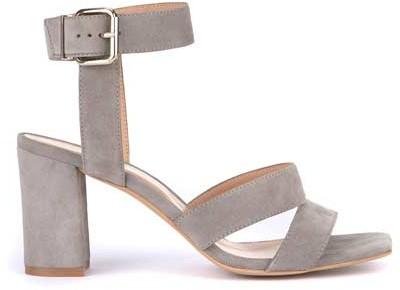 11494c48d27 Naomi Grey Strappy Heel