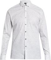 Lanvin Button-down cotton-blend shirt