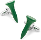Ice Green Golf Tee Cufflinks